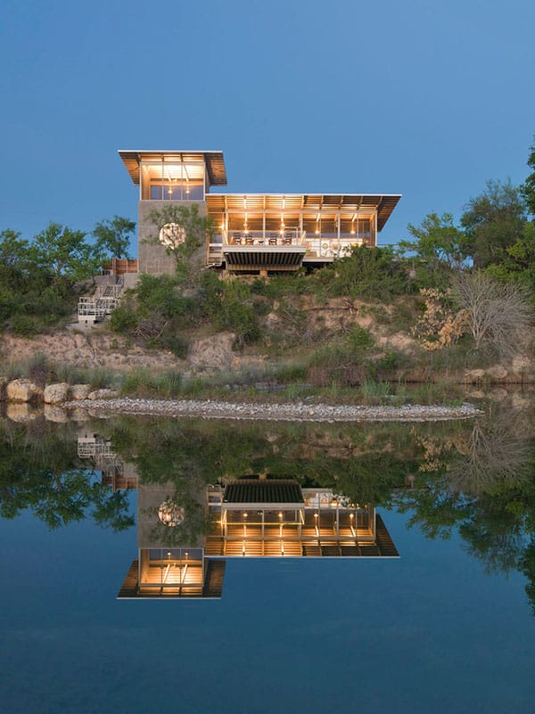 featured posts image for Locomotive Ranch Trailer overlooking the Nueces River