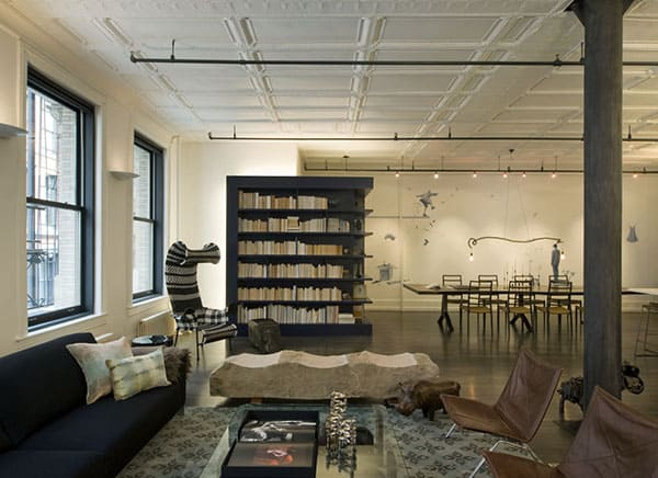 featured posts image for Modern and spacious SoHo loft with artistic details