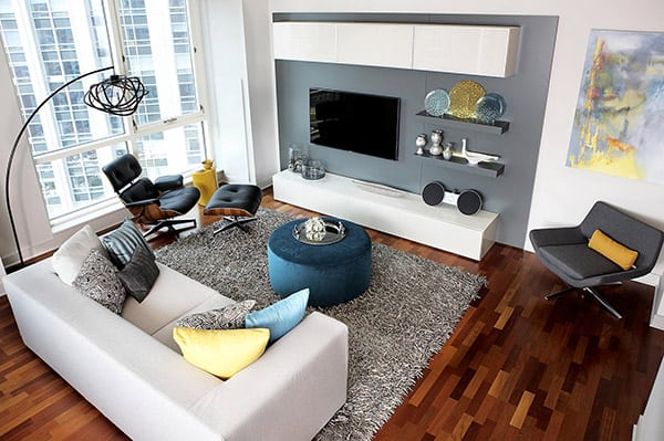 featured posts image for Chic modern high-rise apartment in Chicago
