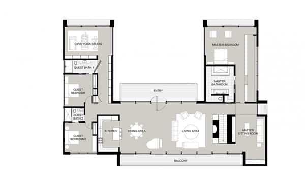New Canaan Residence- Specht Harpman-23-1 Kindesign