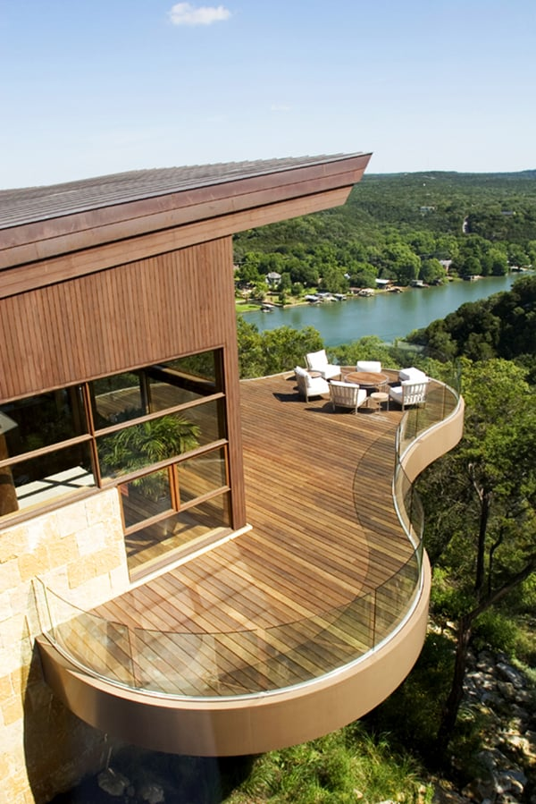 featured posts image for Residential pavilions surrounded by sweeping canyon