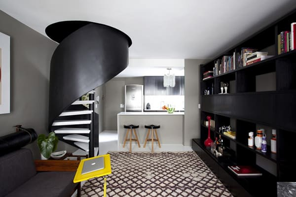 featured posts image for Small São Paulo apartment gets chic transformation