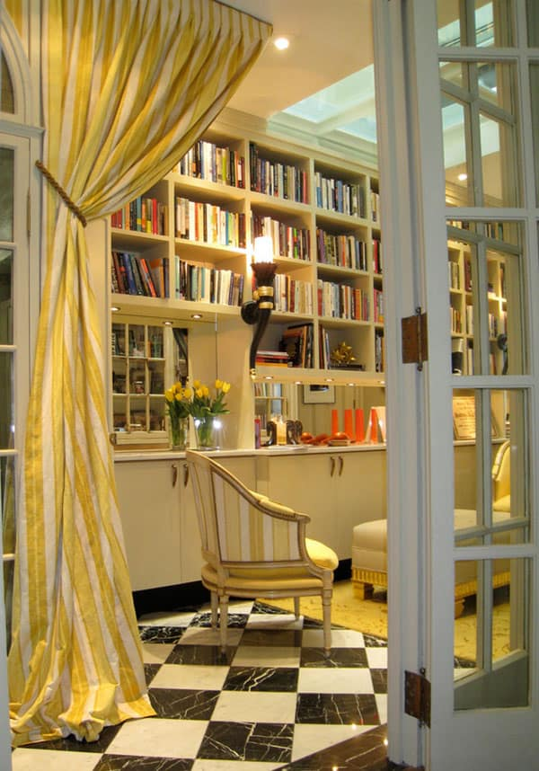 Home Library Design Ideas-04-1 Kindesign