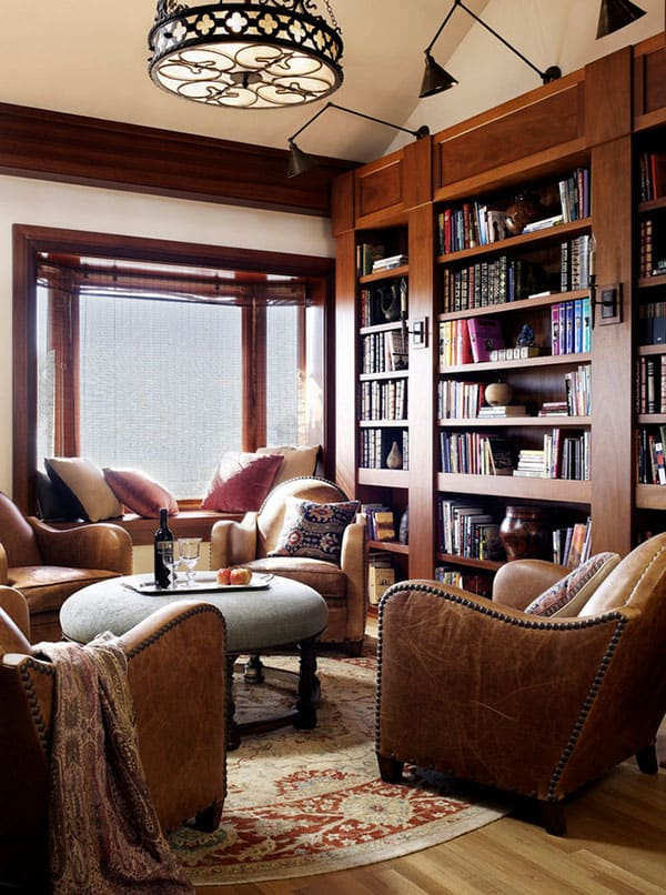 Home Library Design Ideas-10-1 Kindesign