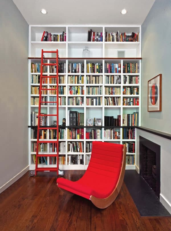 Home Library Design Ideas-24-1 Kindesign