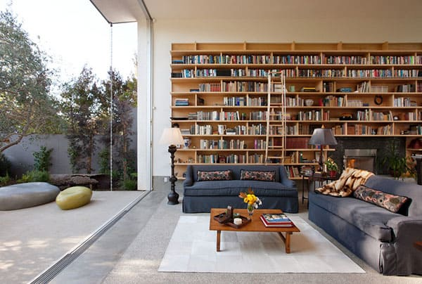 Home Library Design Ideas-25-1 Kindesign