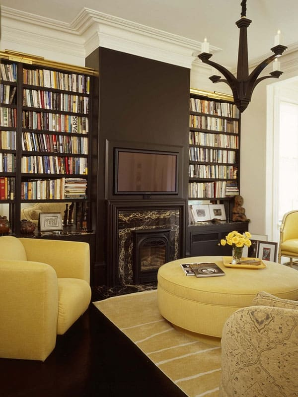 Home Library Design Ideas-32-1 Kindesign
