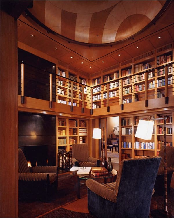 Home Library Design Ideas-33-1 Kindesign