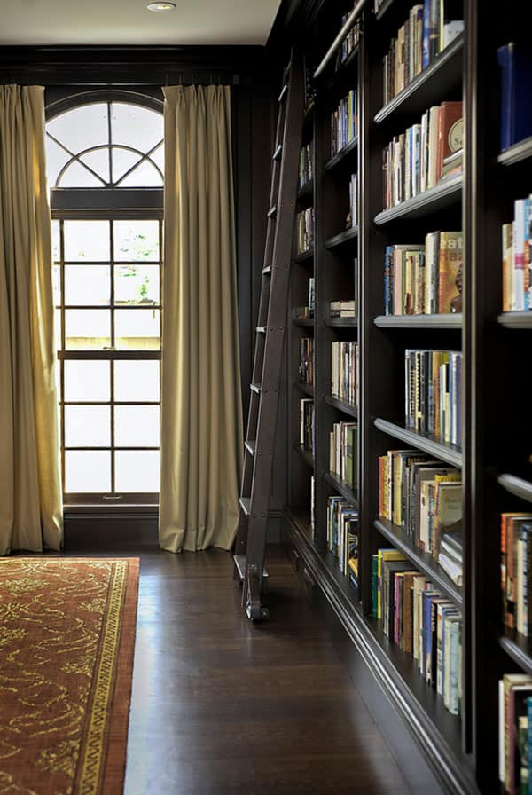 Home Library Design Ideas-37-1 Kindesign