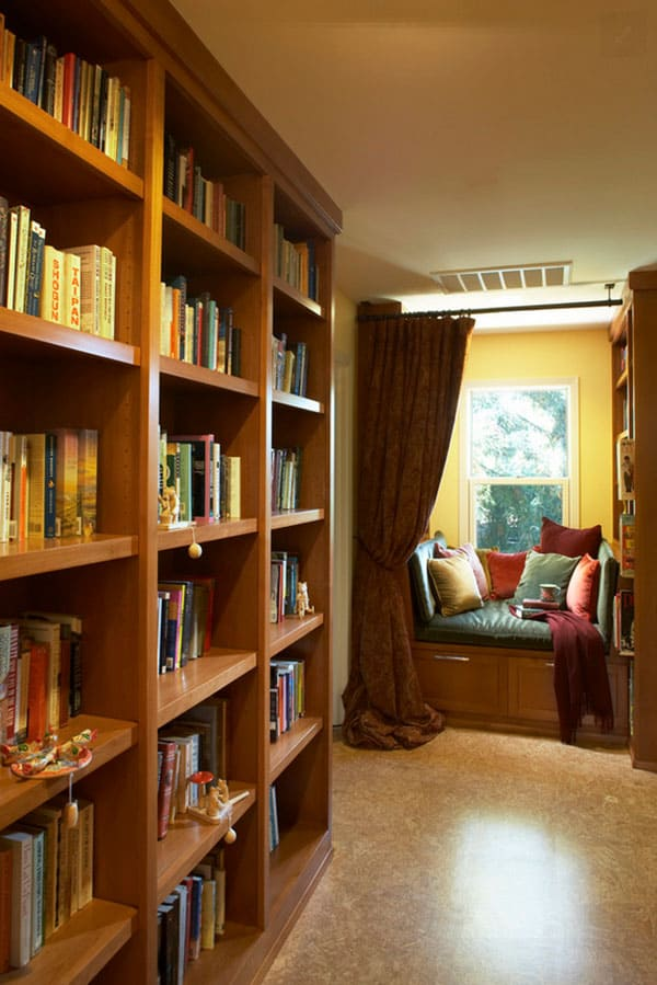 Home Library Design Ideas-41-1 Kindesign