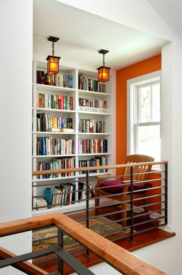 Home Library Design Ideas-42-1 Kindesign