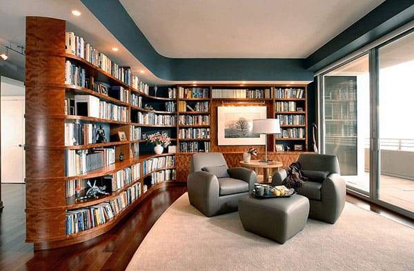 Home Library Design Ideas-45-1 Kindesign