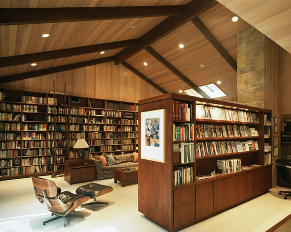 Home Library Design Ideas-48-1 Kindesign