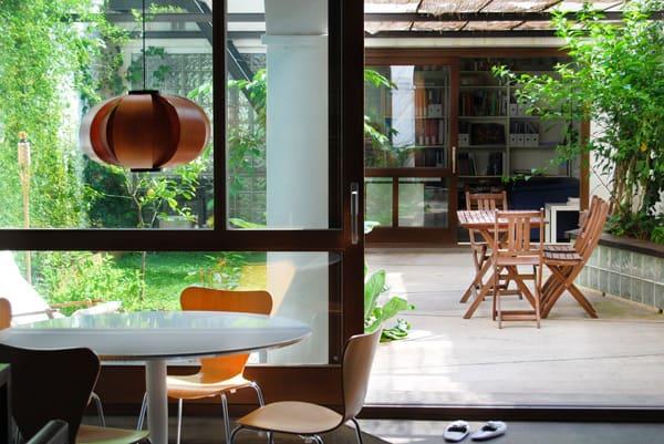 House-Patio in Gracia-Carles Enrich-04-1 Kindesign