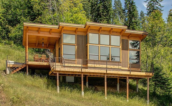featured posts image for Idaho FabCab Cabin on Lake Pend Orielle