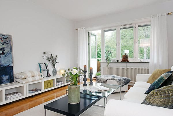 featured posts image for Chic Swedish apartment interiors in Johanneberg