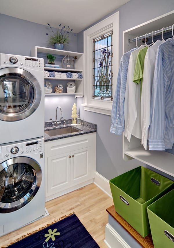 Laundry Room Design Ideas-05-1 Kindesign