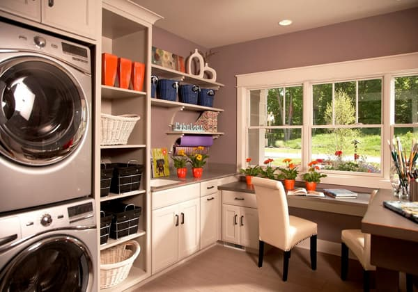 Laundry Room Design Ideas-12-1 Kindesign