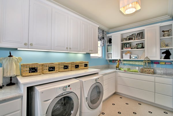 Laundry Room Design Ideas-14-1 Kindesign