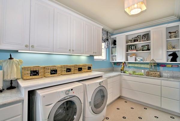Laundry Room Design Ideas-14-1 Kindesign