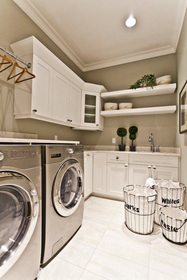 Laundry Room Design Ideas-16-1 Kindesign