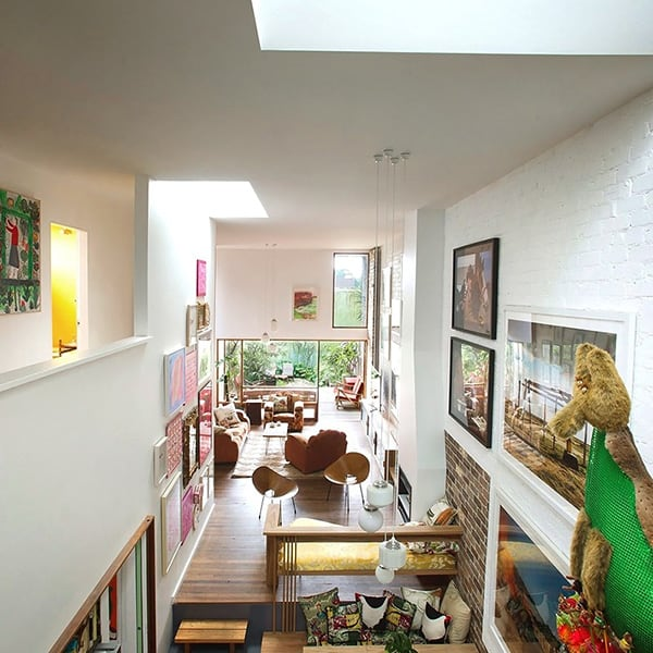 featured posts image for Double height dwelling showcasing eclectic design