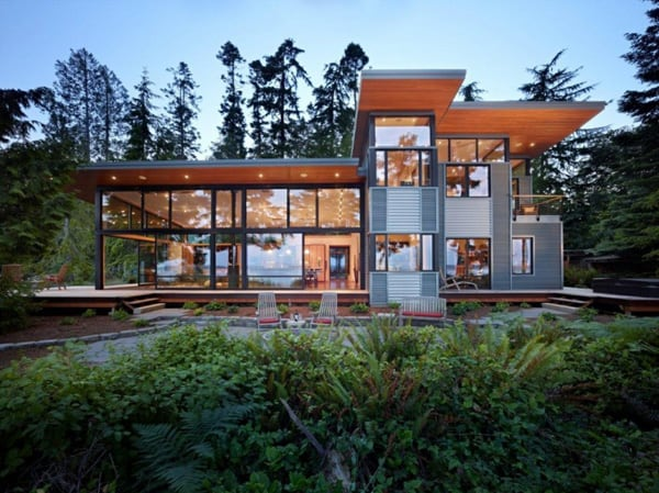 featured posts image for Modern Port Ludlow Residence on Puget Sound