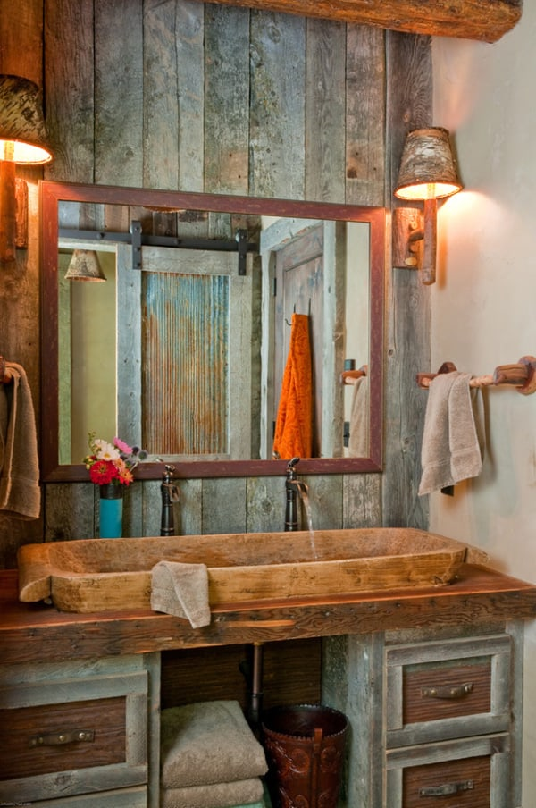 Rustic Barn Bathrooms-04-1 Kindesign