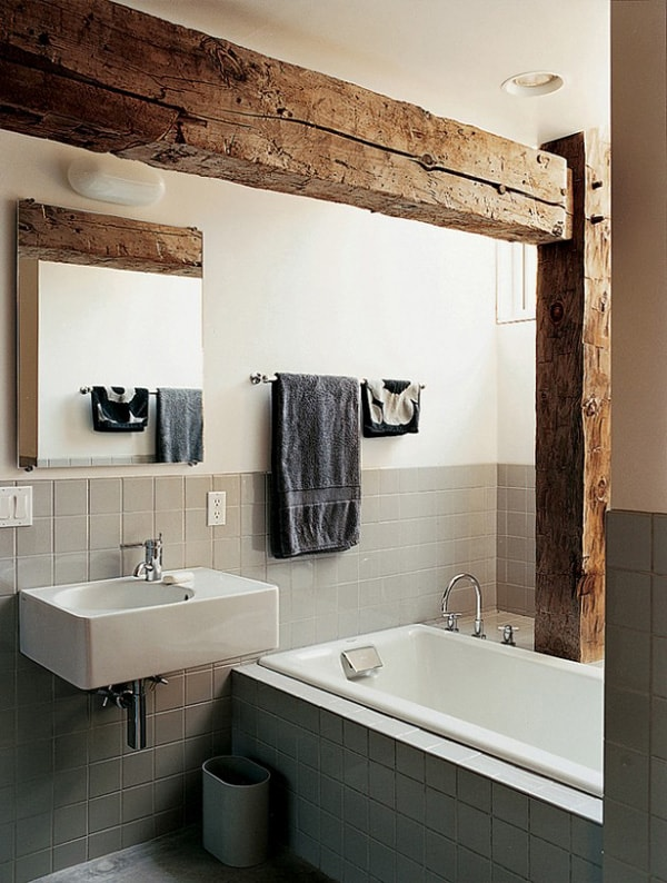 rustic style bathroom 51 insanely beautiful rustic barn bathrooms 14327 | Rustic Barn Bathrooms 19 1 Kindesign