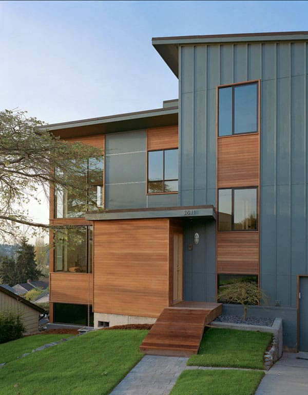 featured posts image for Postwar split-level remodel in Seattle: Zipper House