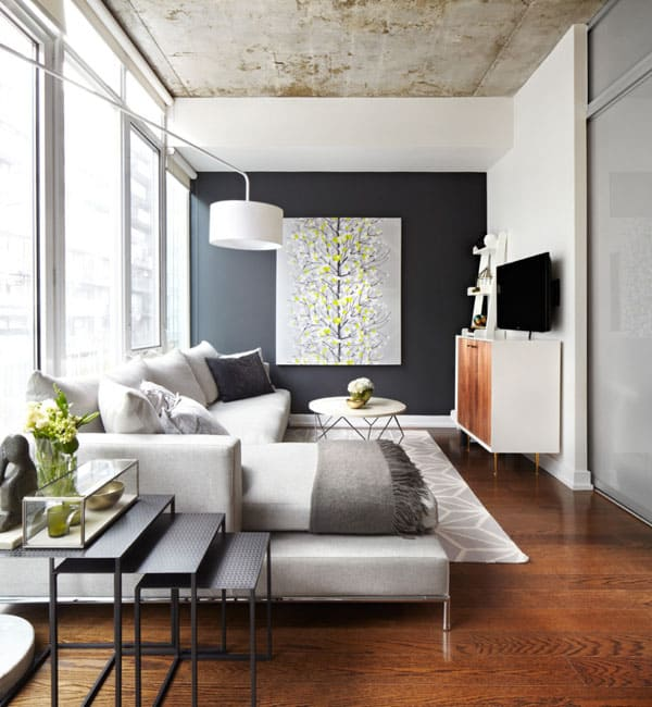 featured posts image for 51 Modern and fresh interiors showcasing gray paint