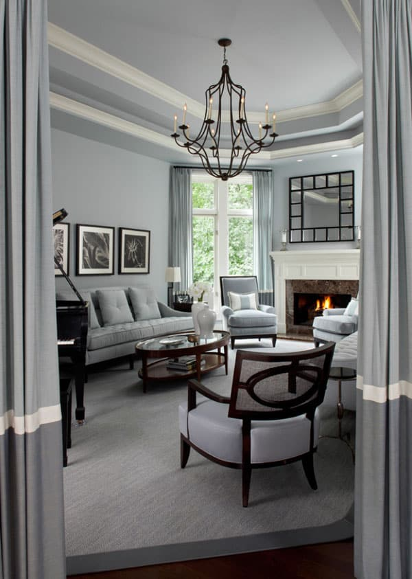 Gray Interior Paint Ideas-25-1 Kindesign