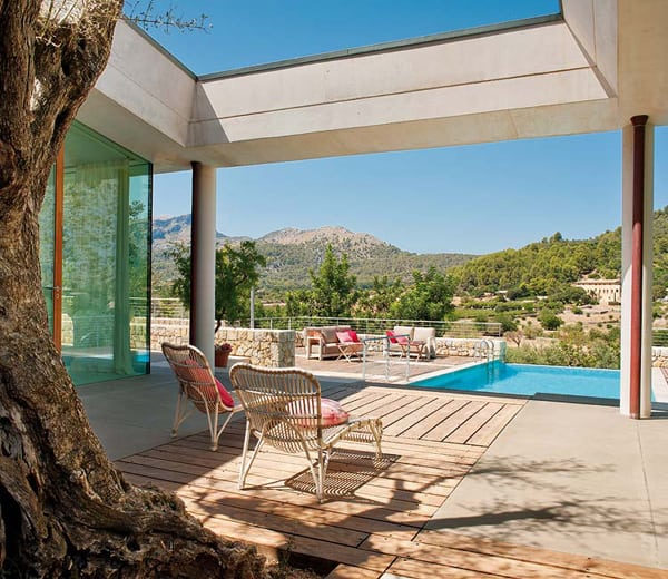 featured posts image for Gorgeous Mallorcan retreat connected with nature