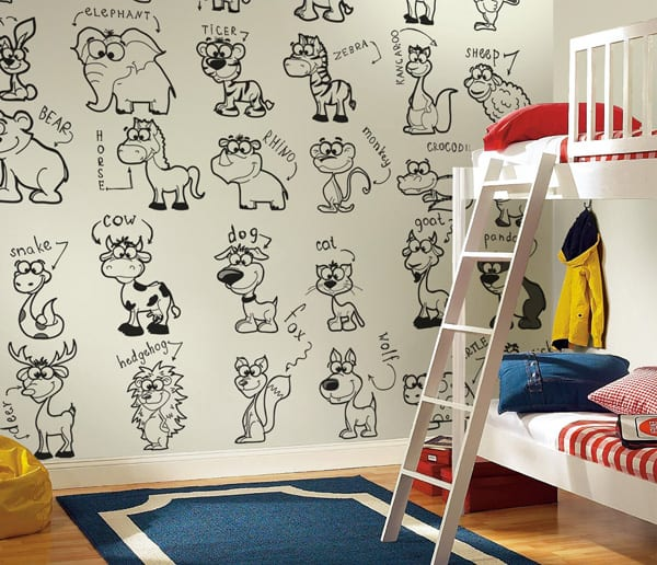 featured posts image for Back to school with lovely murals to color