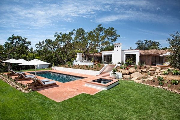 featured posts image for Contemporary hacienda in Montecito: Casa Allende