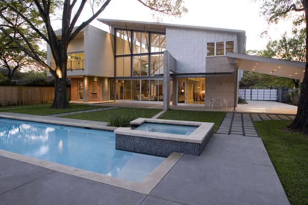 featured posts image for Modern Houston residence infused with openness