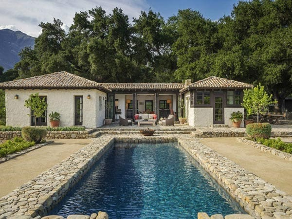 featured posts image for Stunning Spanish-style hacienda ranch in Ojai