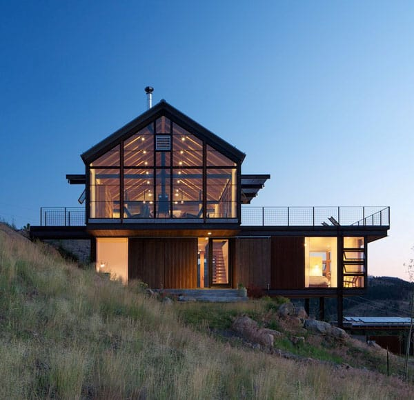featured posts image for Sunshine Canyon House in the Boulder mountains