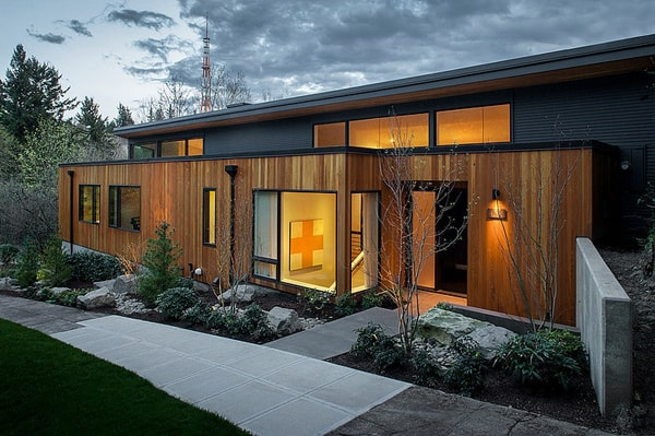 featured posts image for Phenomenal 1950s ranch remodel in Portland Hills