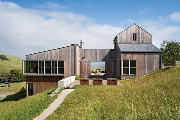 featured posts image for West Marin Residence with Mount Tamalpais views
