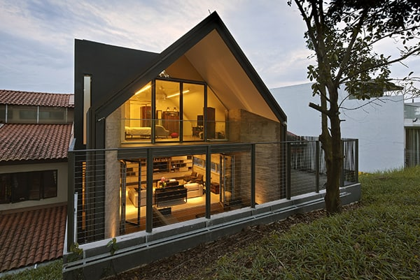 featured posts image for Contemporary Y-House in Singapore by ONG&ONG