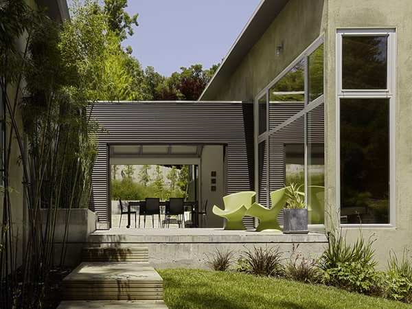 featured posts image for 3 Bar Residence nestled on wooded California site