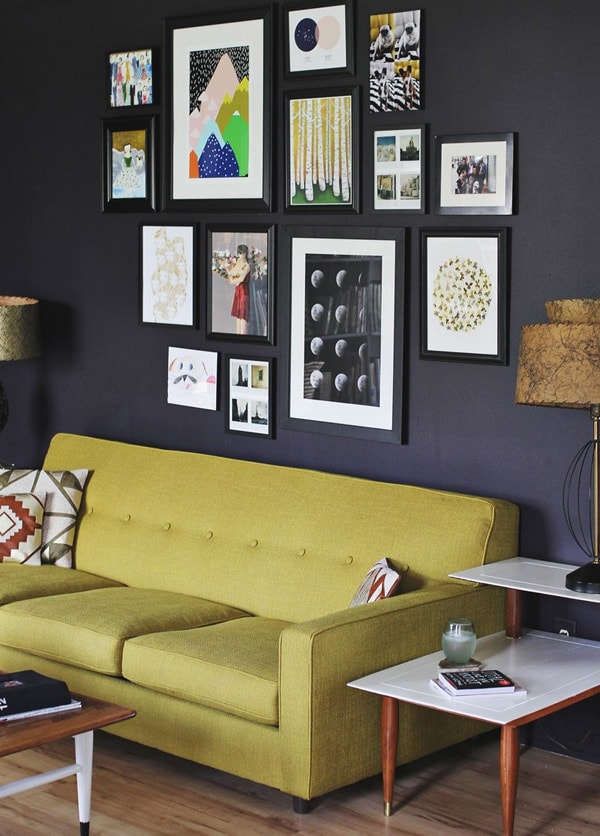58 Stylish ways to transform ordinary walls into art gallery walls