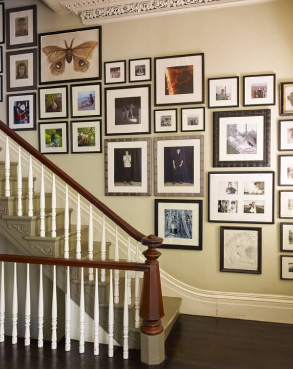 Art Gallery Wall Ideas-07-1 Kindesign