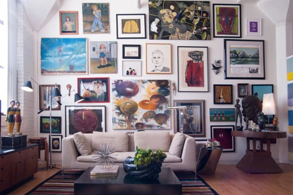Art Gallery Wall Ideas-23-1 Kindesign