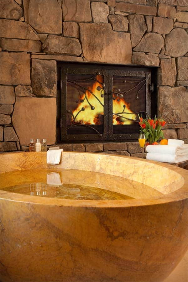 Bathroom Fireplace Ideas-33-1 Kindesign
