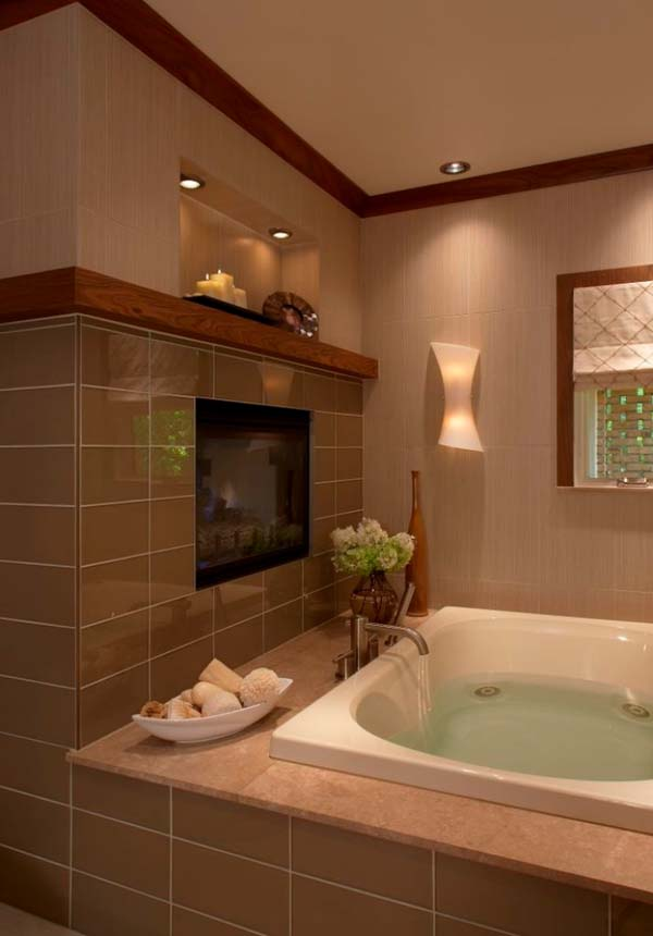 Bathroom Fireplace Ideas 34 1 Kindesign