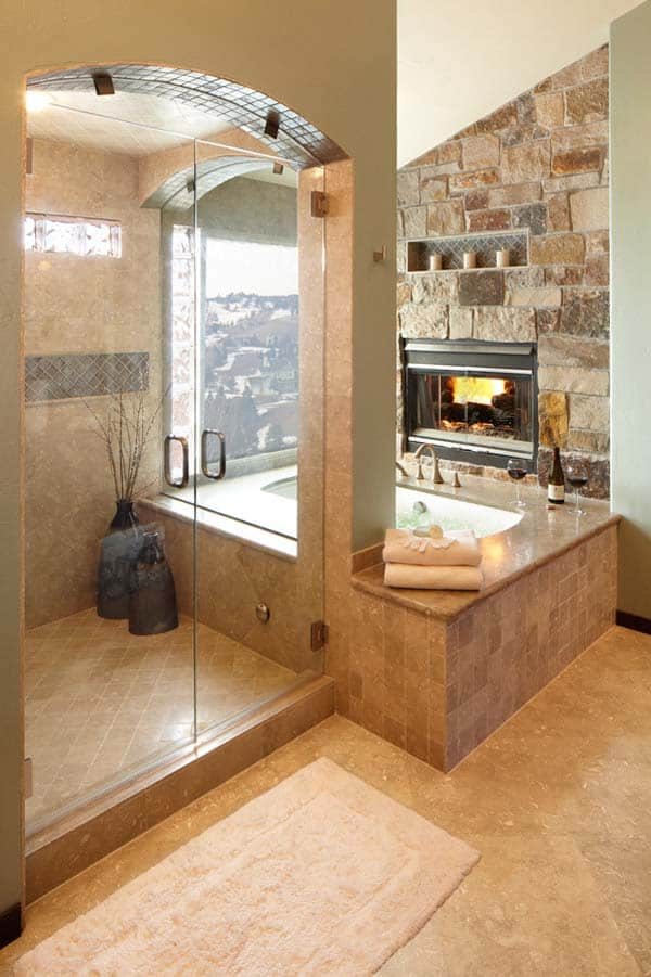 Bathroom Fireplace Ideas-37-1 Kindesign