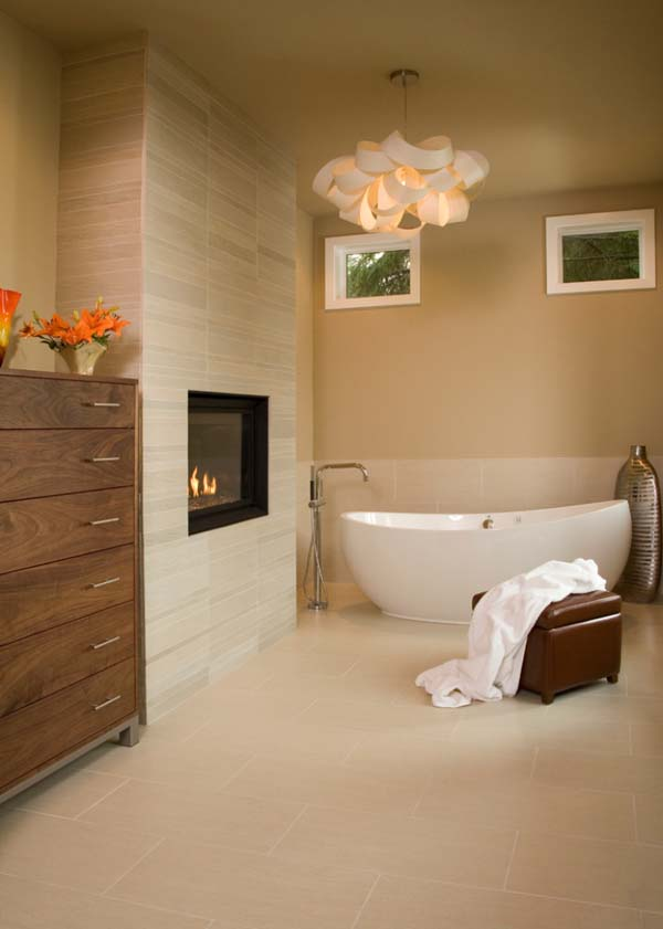 Bathroom Fireplace Ideas-38-1 Kindesign