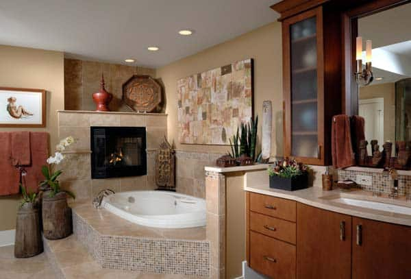 Bathroom Fireplace Ideas-44-1 Kindesign
